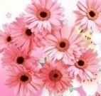 Flores em jarro decorado