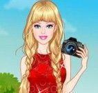 Fotografar com Barbie