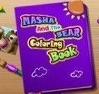 Pintar desenho Masha e o Urso