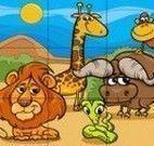 Puzzle infantil dos animais