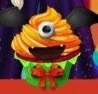 Cupcakes de halloween da Elsa