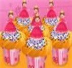 Decorar cupcakes da princesa