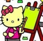 Jogos de Pintar da Hello Kitty