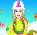 Barbie andar de cavalo