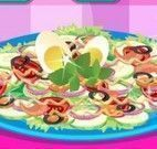 Decoração da salada
