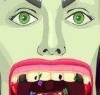 Malévola no dentista
