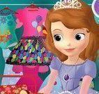 Princesa Sofia arrumar mala