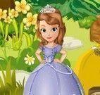 Princesa Sofia caçar abelhas