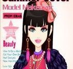 Garota capa de revista