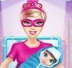 Parto da Super Barbie