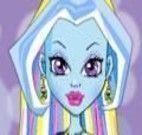 Vestir e maquiar Abbey Monster High