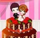 Bolo de casamento decorado colorido