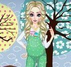 Roupas da grávida Elsa