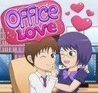 Beijos no escritório