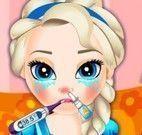 Cuidar da saúde da Elsa bebê