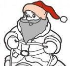 Colorir imagem do Natal