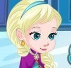 Cuidar dos machucados da Elsa
