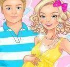 Vestir Barbie grávida