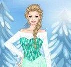 Vestir e maquiar Barbie Frozen