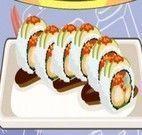 Preparar sushi de camarão