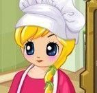 Cozinha brincando na cozinha
