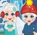 Elsa atividades escondidas
