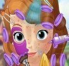 Tratamento facial da Princesa Sofia