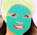 Limpeza de pele no spa Selena Gomez