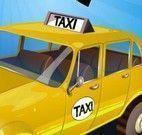 Dirigir taxi e estacionar