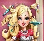 Apple White cabeleireira