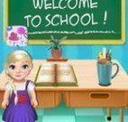 Elsa bebê decorar escola