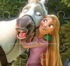 Rapunzel quebra cabeça