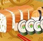 Decorar prato de sushi