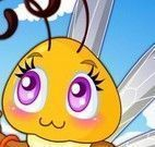 Roupas para vestir abelha