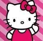 Colorir desenho da Hello Kitty no zoológico