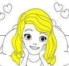 Pintar desenho da Princesa Sofia