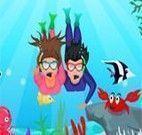 Namorar no fundo do mar