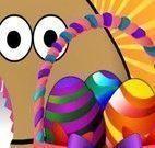 Pou cesta de Páscoa decorar