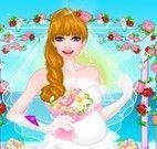 Vestir e maquiar noiva grávida