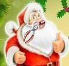 Papai Noel cuidar dos dentes