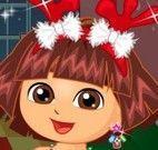 Dora enfeitar Natal