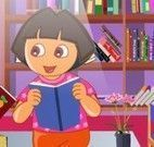 Dora limpar biblioteca