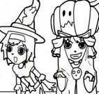 Colorir desenho Halloween