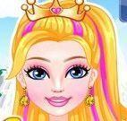 Maquiar e vestir noiva Super Barbie