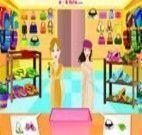 Atender na loja para mulheres