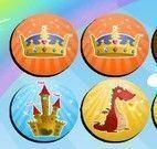 Jogo da memória acessórios de princesas