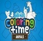 Coloring Time Animals