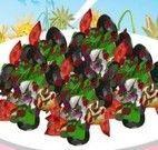 Receita de salada com tomate e azeitonas