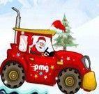 Dirigir carro de presentes do papai Noel