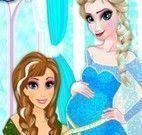 Costurar roupas de grávida da Elsa